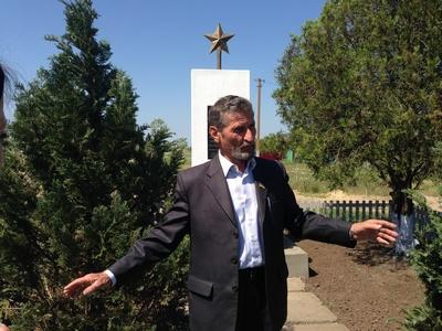 З. Аташьян – лидер общины села Новая Заря (в народе Армяны)